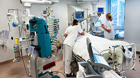 The research areas in the intensive care unit icu encompasses the